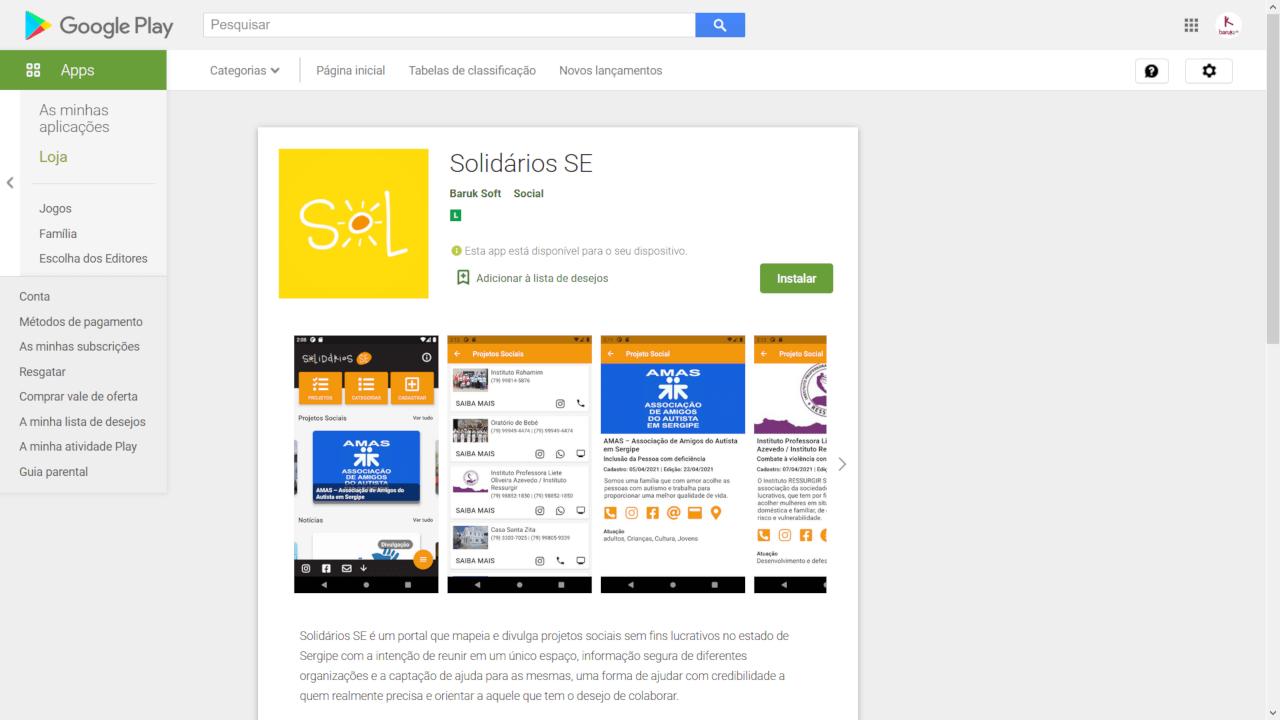 You are currently viewing Lançamento do Aplicativo Solidários SE e melhorias no site